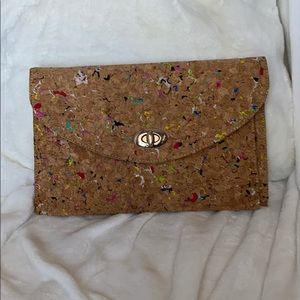 Cork clutch or crossbody